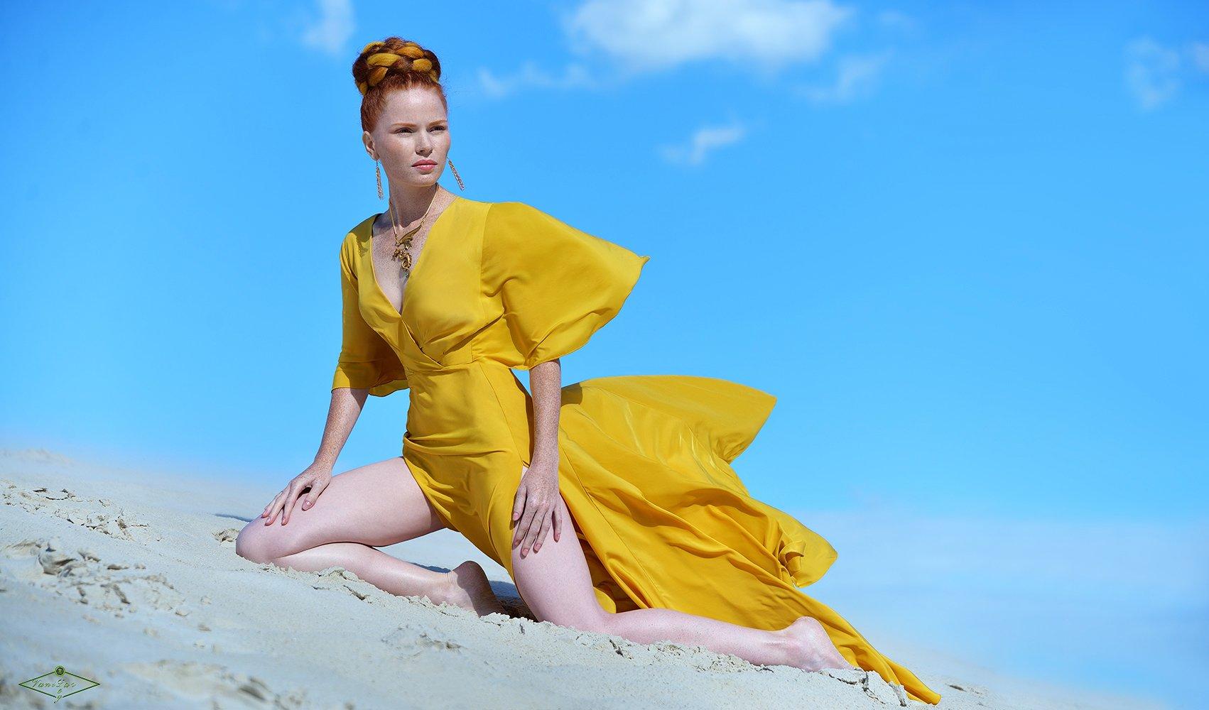 fashion, girl, beauty, девушка, природа, песок, красота, мода, Олег Ванилар