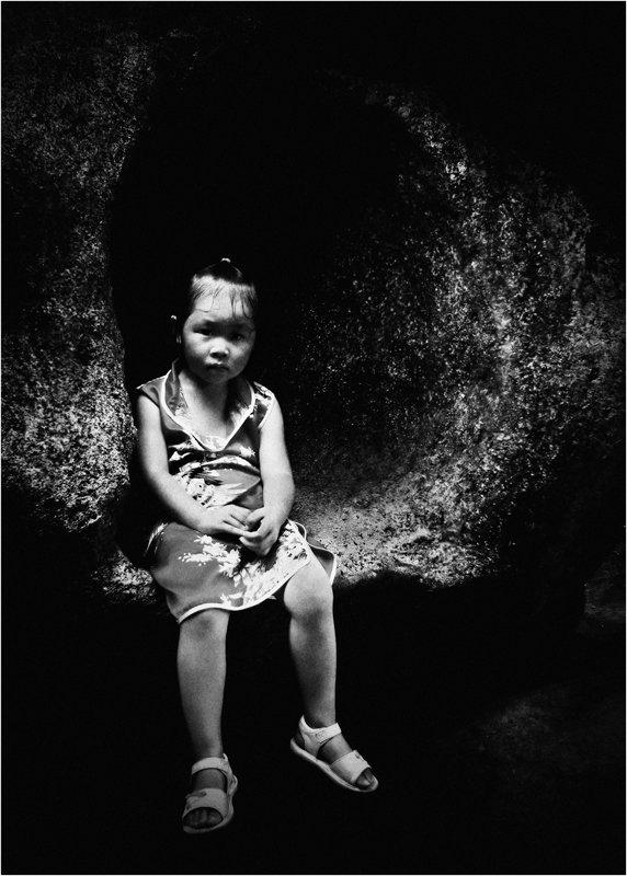 детство, недетские мысли, взгляд, девочка,китай, гуанчжоу, Olga Panteleeva