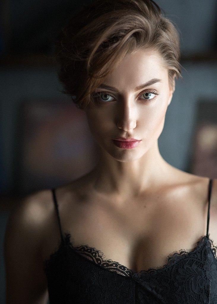 Eyes, Girl, Portrait, Казанцев Алексей
