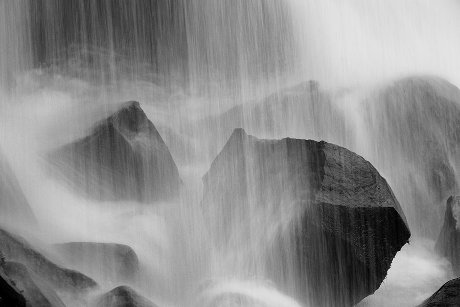 Водопад, Камни, Камчатка, Сергей Краснощёков
