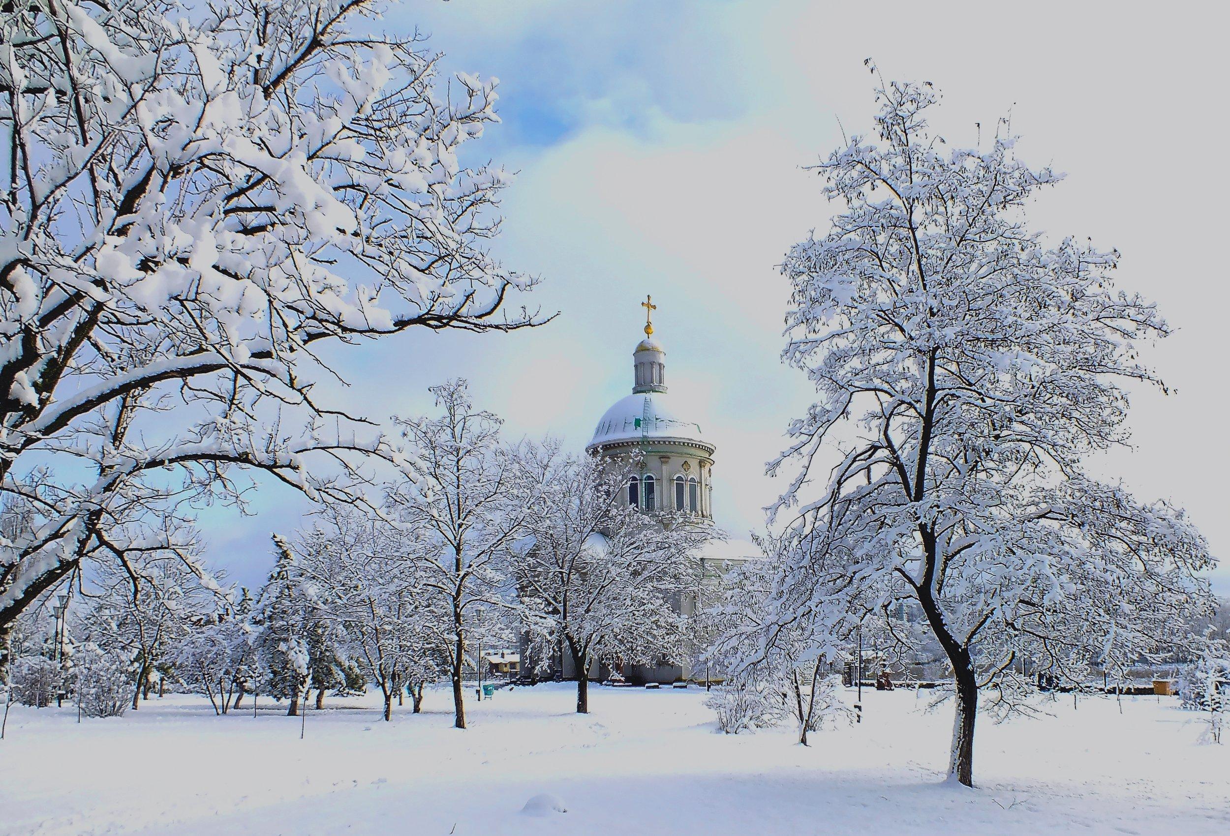 #город, #зима, #природа, #Ростов-на-Дону, #храм, #церковь, Константин Слободчук