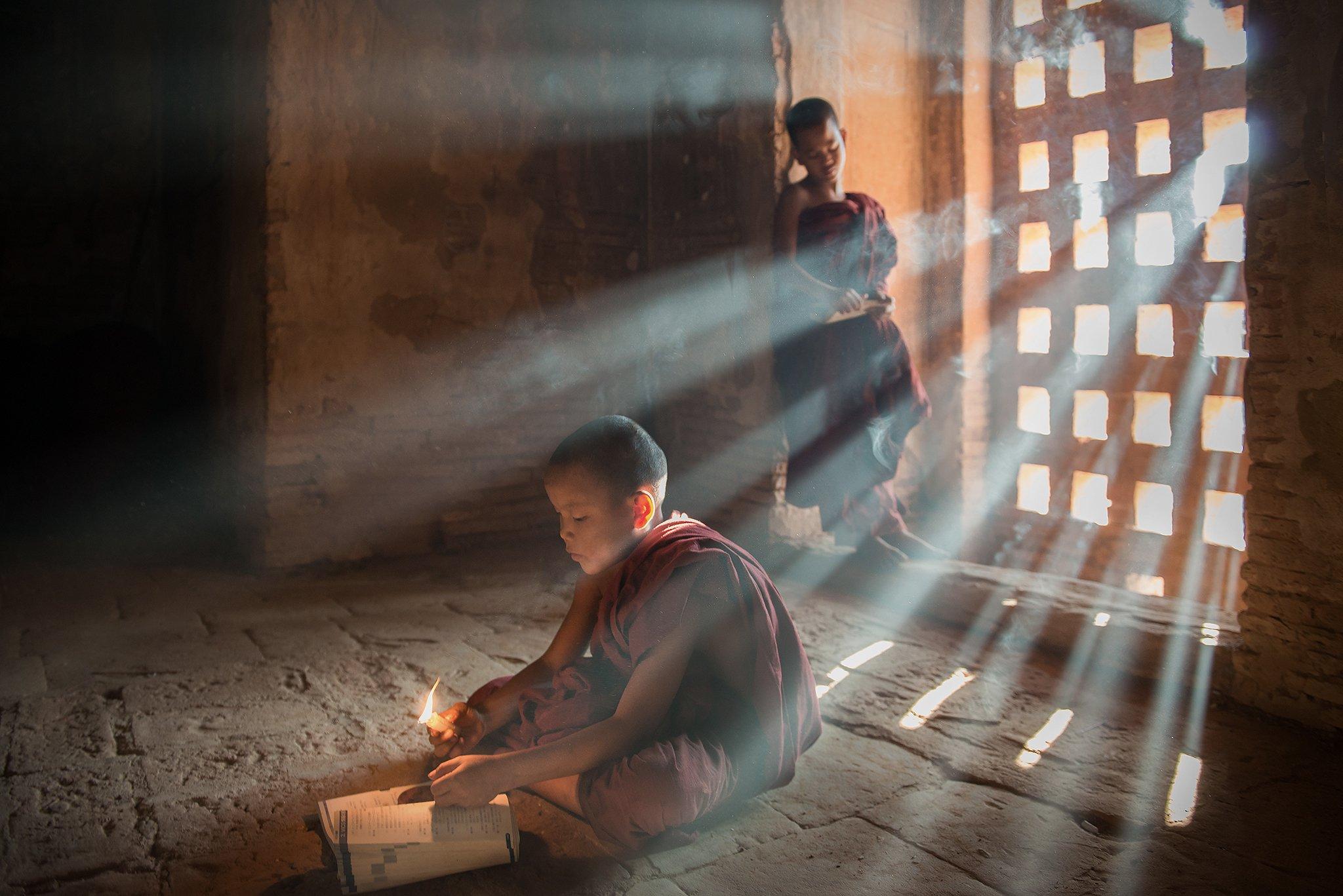 People, Two Person,Buddhism, sarawut intarob