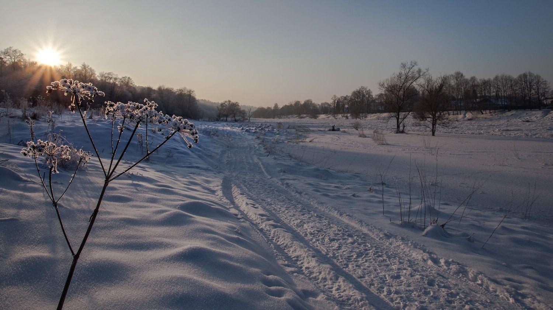 Москва-река, Васильевское, январь., Андрей Леонидович