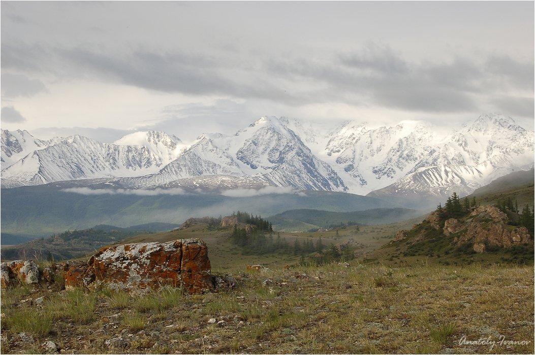 Горный алтай, Курайская степь, Северо-чуйский хребет, Иванов Анатолий