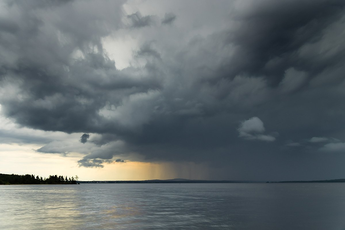 Куйто, дождь, север, Карелия, небо, Ирина Белотурова