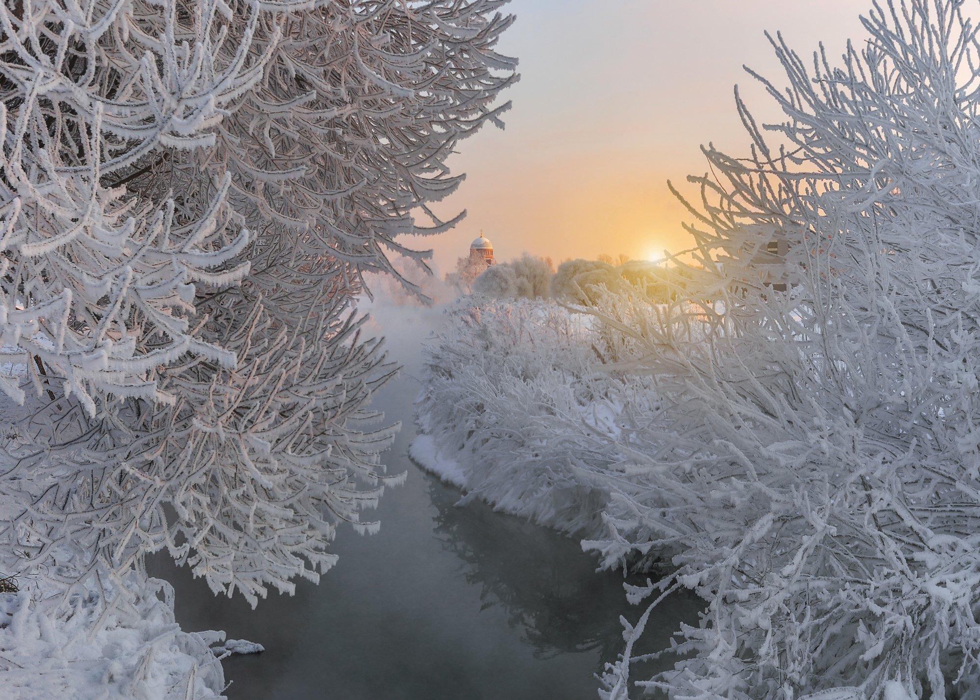 зима, санкт-петербург, Гордеев Эдуард