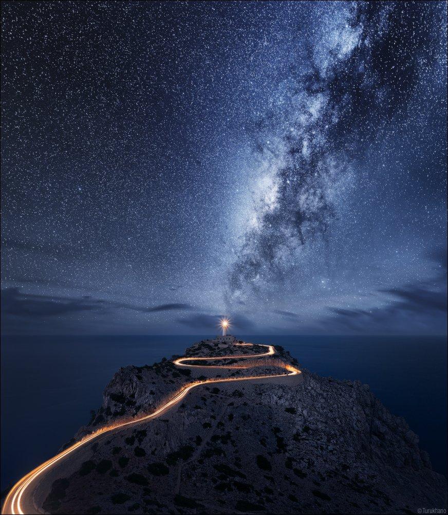 Звезды, Млечный путь, Свет, Иван Турухано