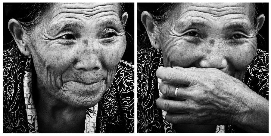китай даланг бабушка, старость взгляд фактура, Olga Panteleeva