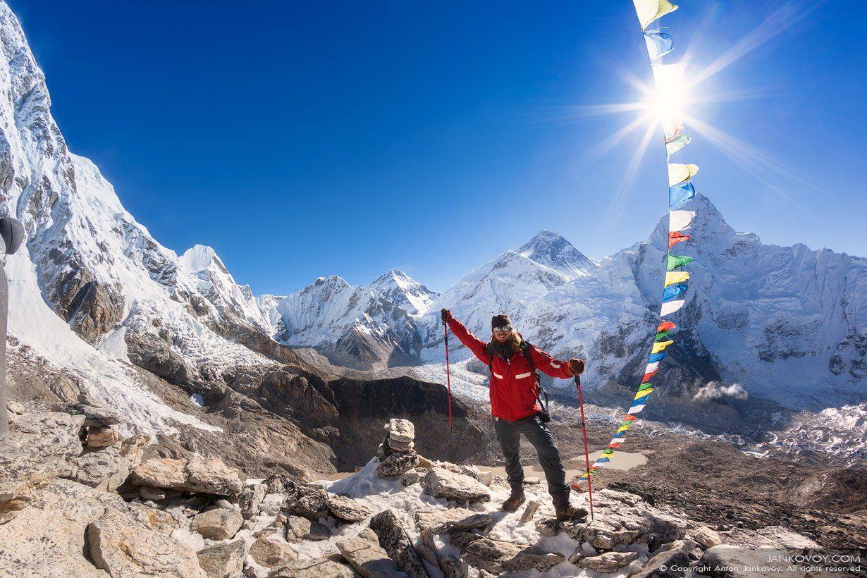 Непал, Эверест, БЛЭ, базовый лагерь, Гималаи, горы, снег, путешествия, треккинг,, Антон Янковой (www.photo-travel.com)