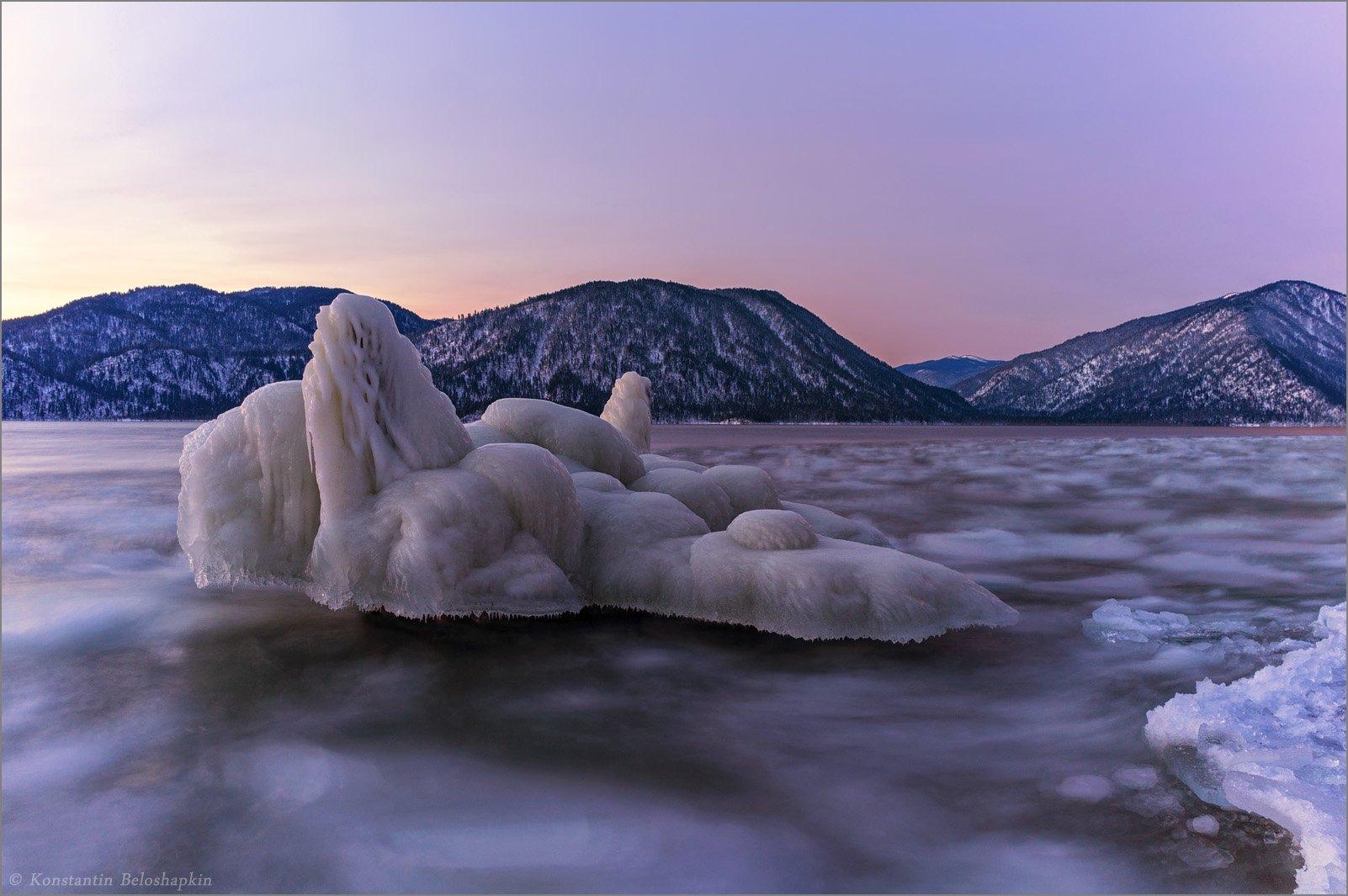 рассвет, телецкое озеро, Константин Белошапкин