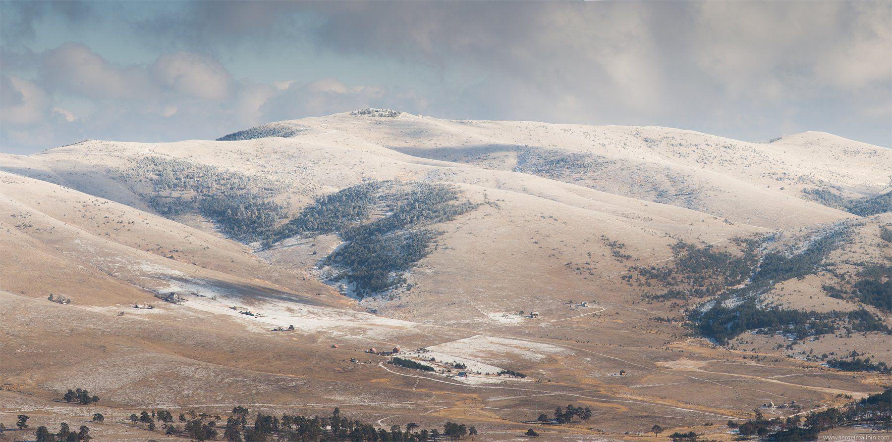 Mountains, Serbia, Winter, Сергей Малинин