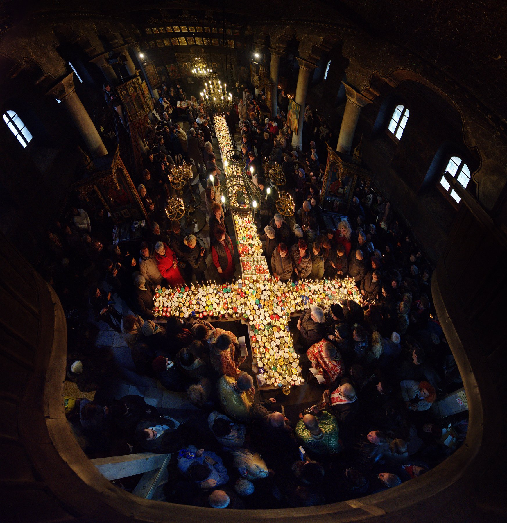 charalambos, liturgy, cross, candles, church, christian, tradition, travel, Руслан Асанов