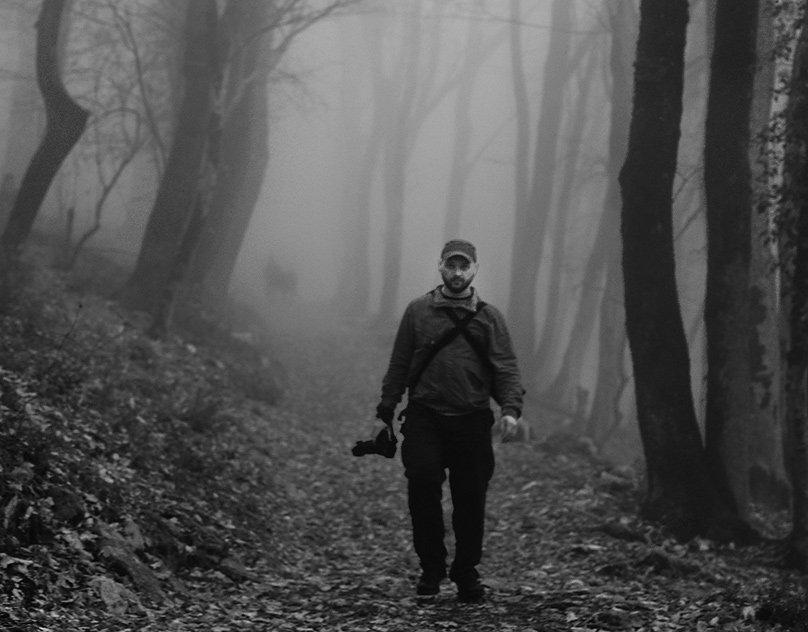 абхаия,горы,фотограф,в,тумане, Toska