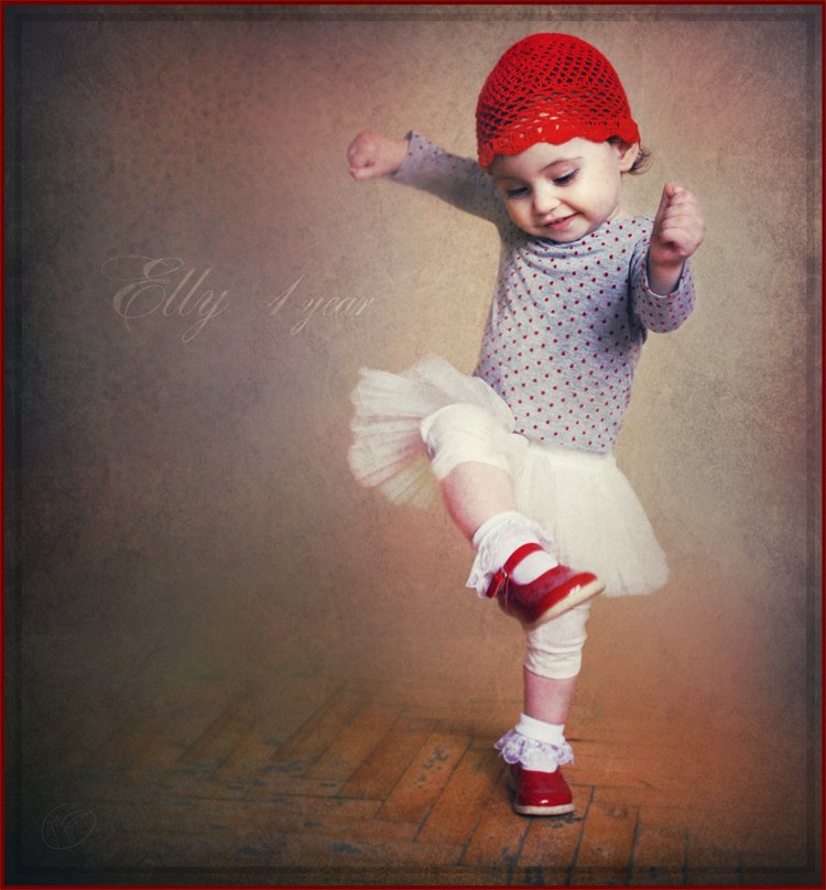 elly, baby, girl, dance,lady, Maria G
