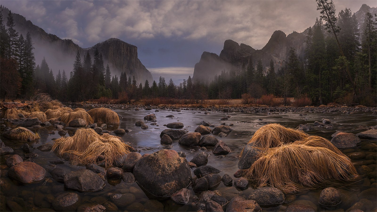 Yosemite, Valley View, Дмитрий Титов