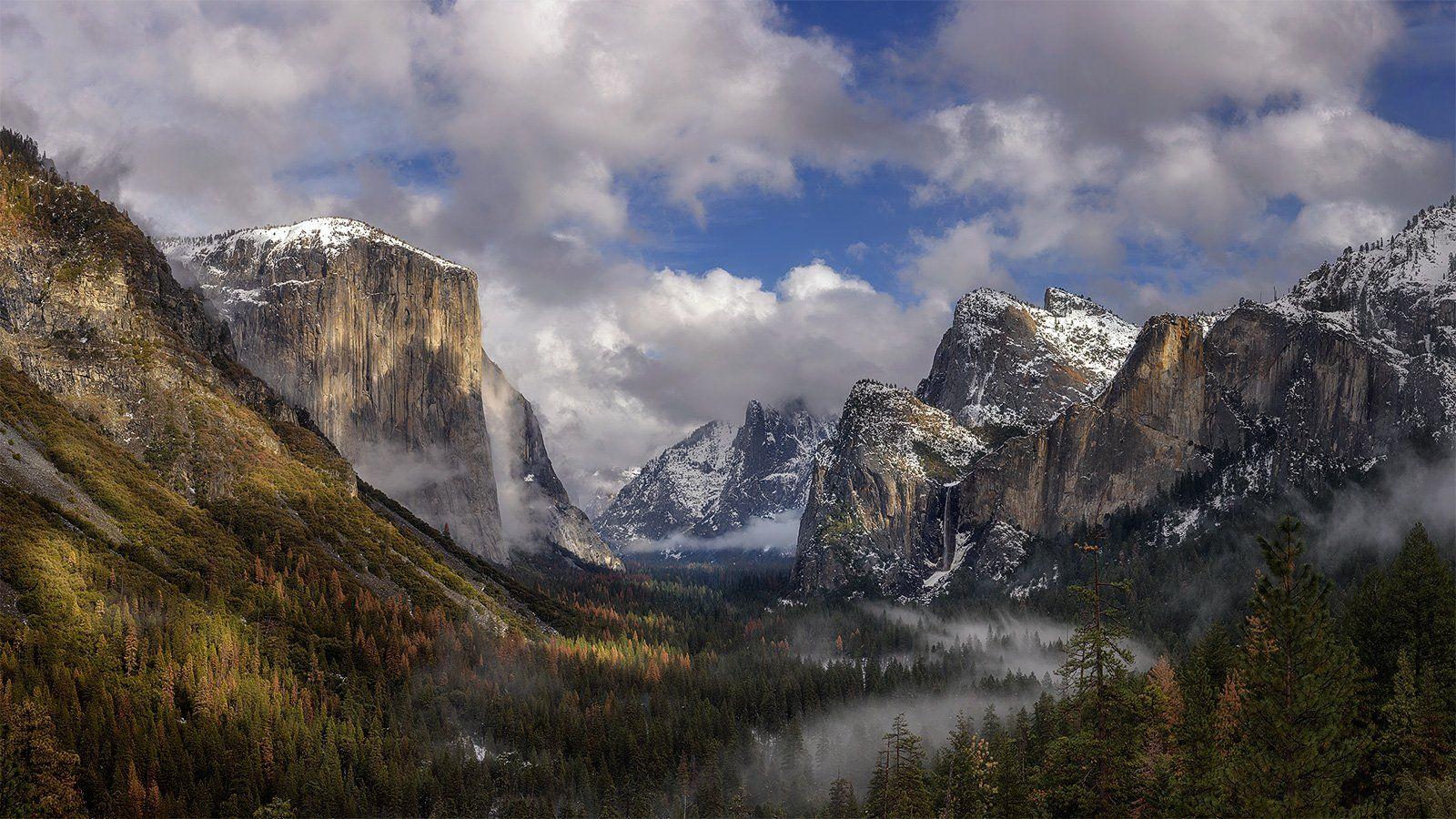 Yosemite, Tunnel View, Дмитрий Титов