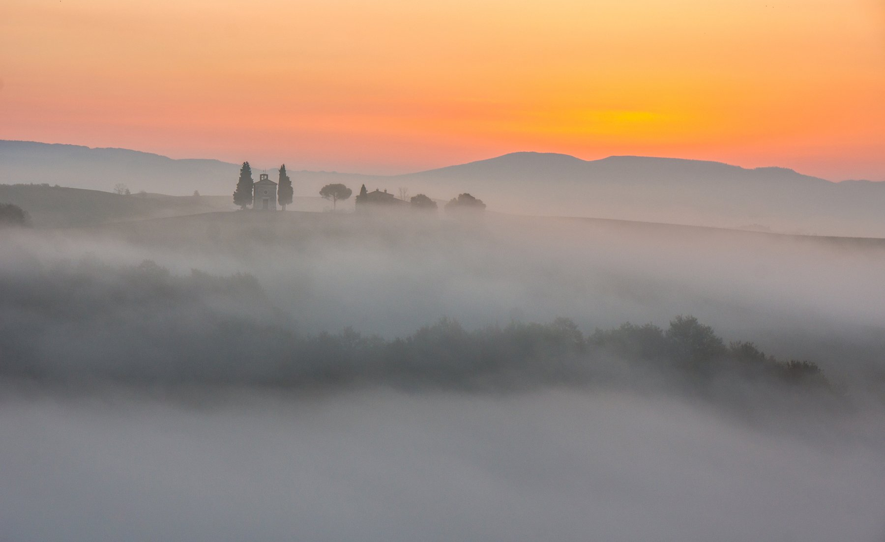 tuscany, nature, morning, fog, landscape, italy, journey, europe, d'orcia тоскана, природа, утро, туман, пейзаж, италия, путешествие, европа, д'орча, Ashot Grigoryan