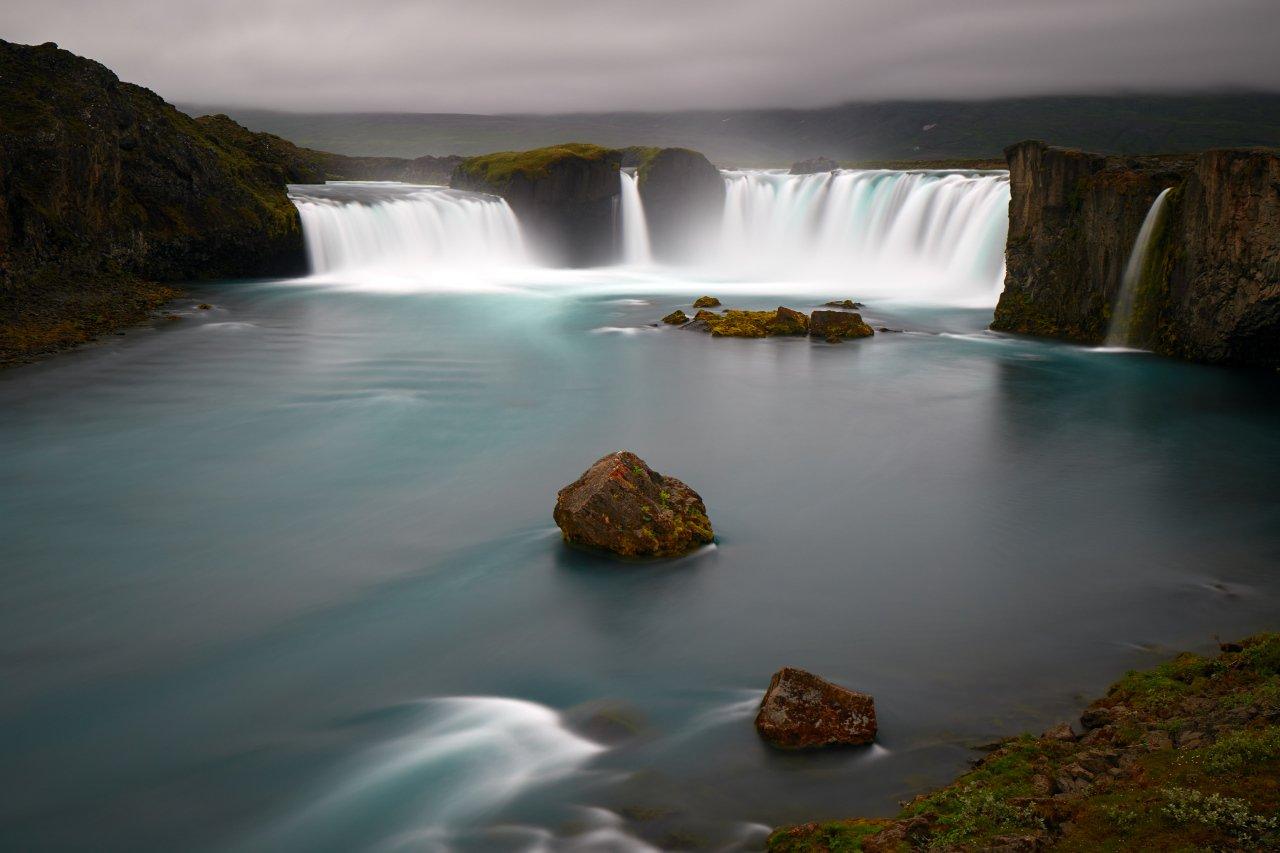 Goðafoss, Iceland, waterfall, Dirk Juergensen