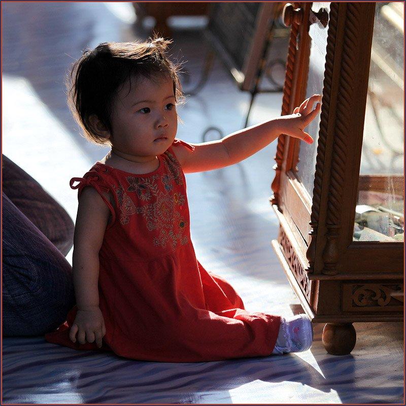 таиланд, чианг май, девочка, солнце, Ханмурзин Павел