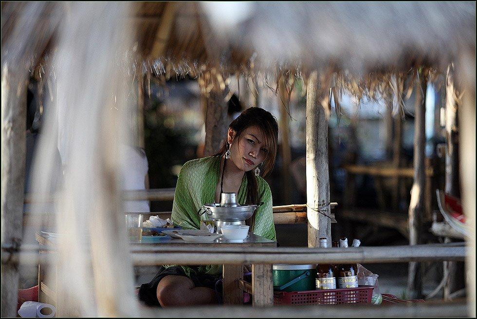 таиланд, чианг май, девушка, обед,, пиво, Ханмурзин Павел