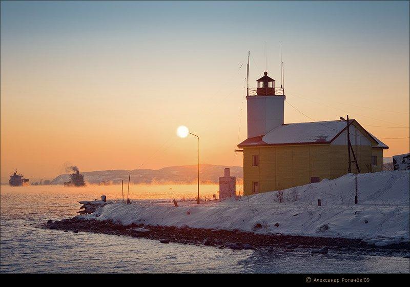 мурманск,январь,зима, Александр Рогачёв