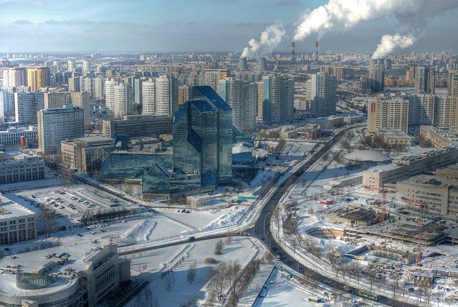 крыша, крыши, город, москва, день, мороз, стекляшка, кристалл, синий зуб, зенит, Kremchik