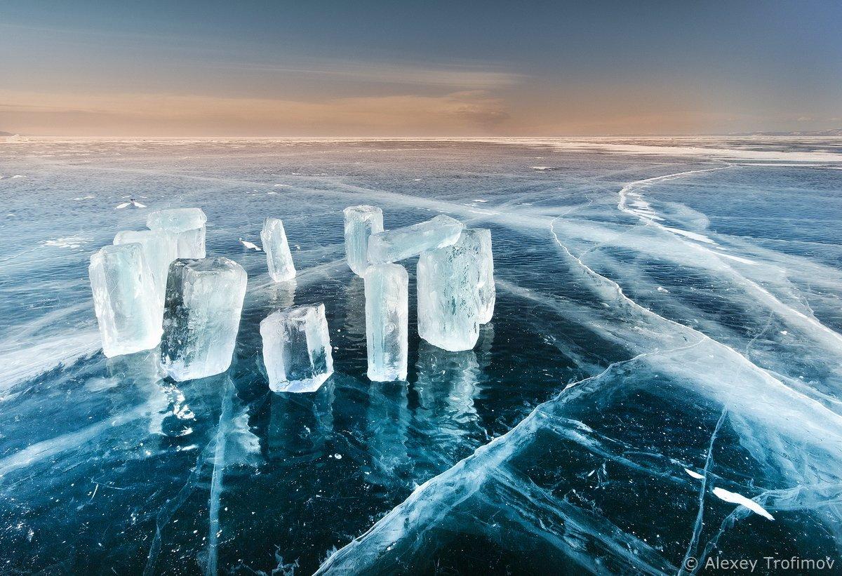 Байкал, Байкальский лед, Алексей Трофимов