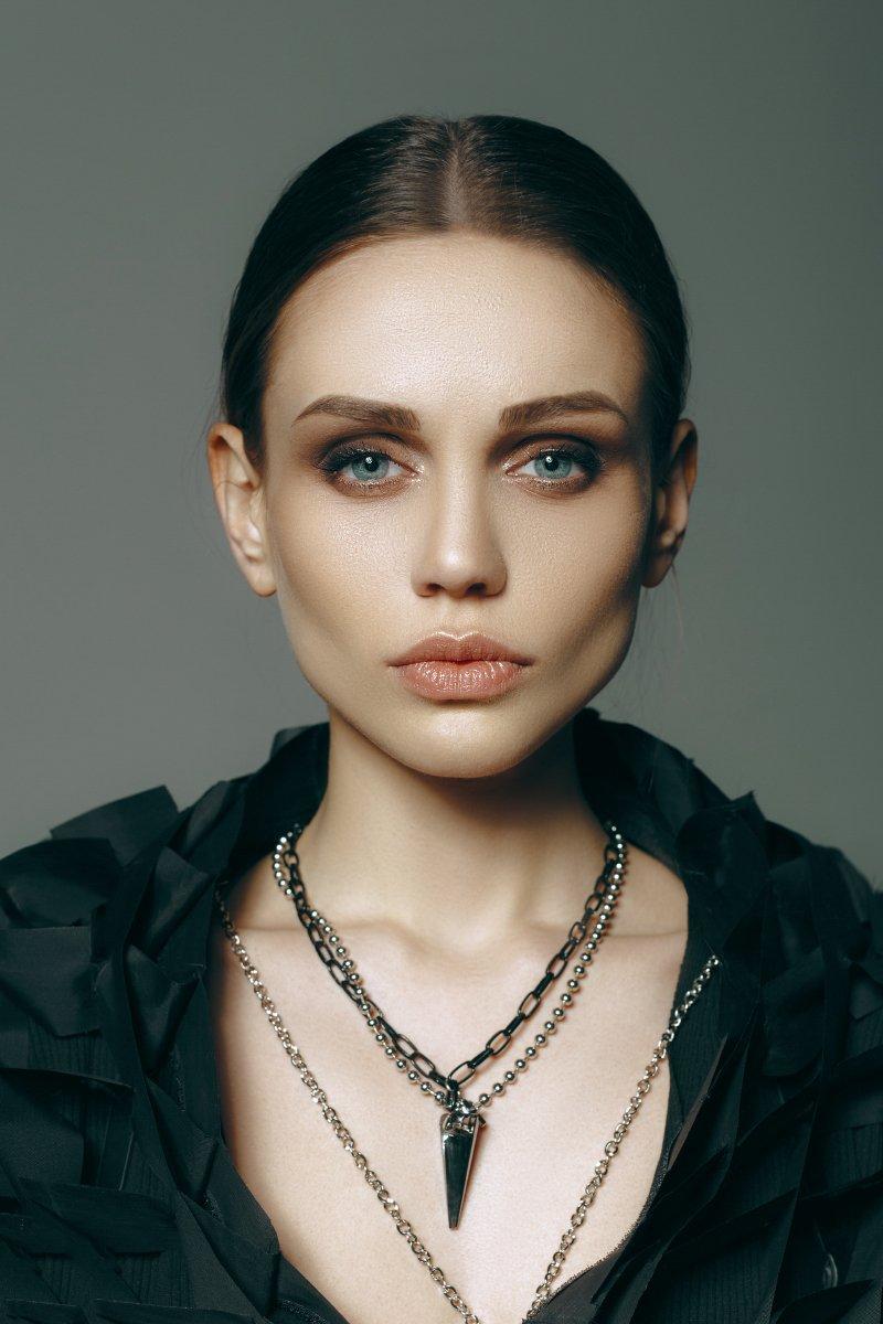 girl, portrait, beautiful, lips, eyes, fashion, Корнеев Виктор