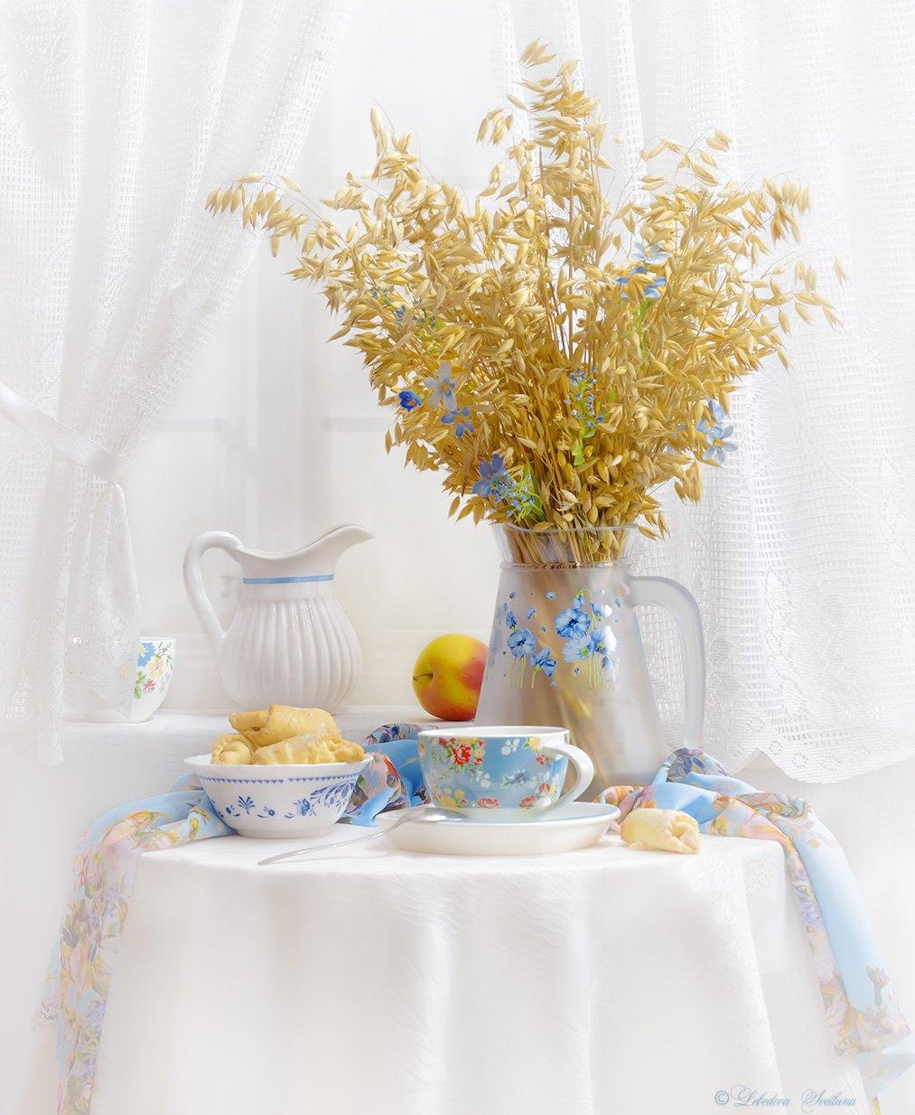 овёс,яблоко,чаепитие,печенье, Лебедева Светлана
