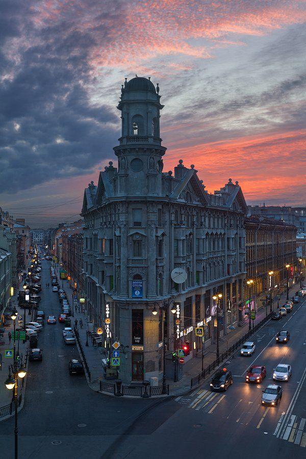 5 углов, Загородный проспект, Питер, Рассвет, Санкт-Петербург, Ул. Рубинштейна, Alex Darkside