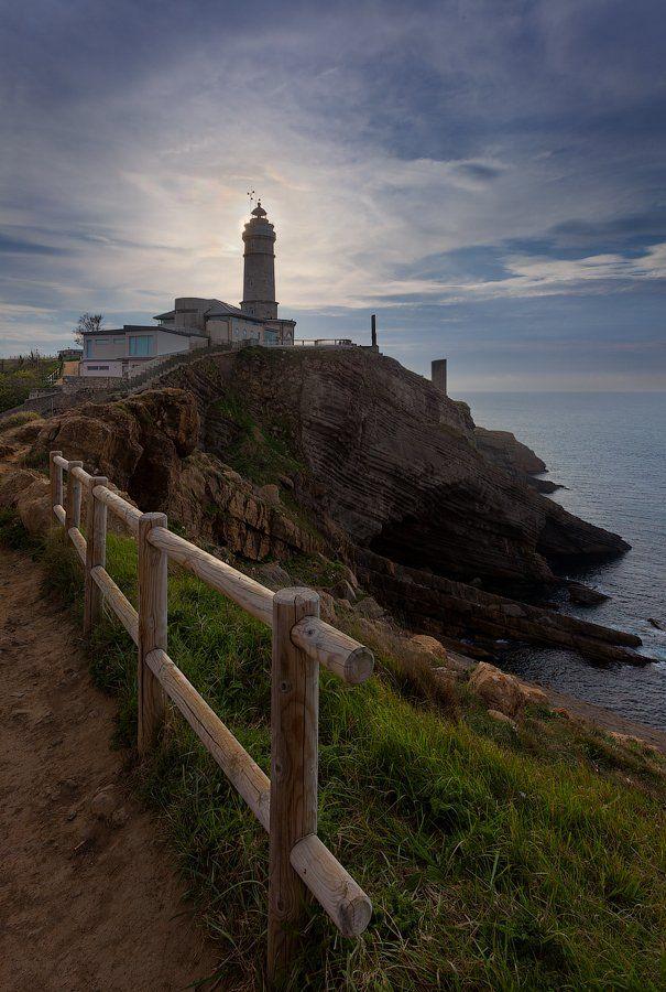 Cantabria, Lighthouse, Santander, Spain, Испания, Кантабрия, Маяк, Сантандер, Alex Darkside