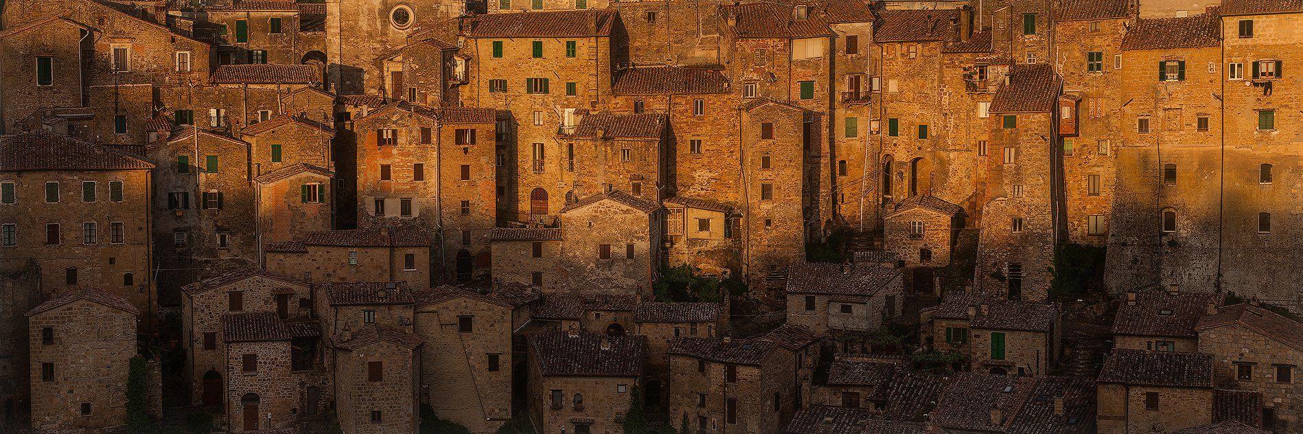 Italy, Panorama, Tuscany, Vladimir Kushnarev