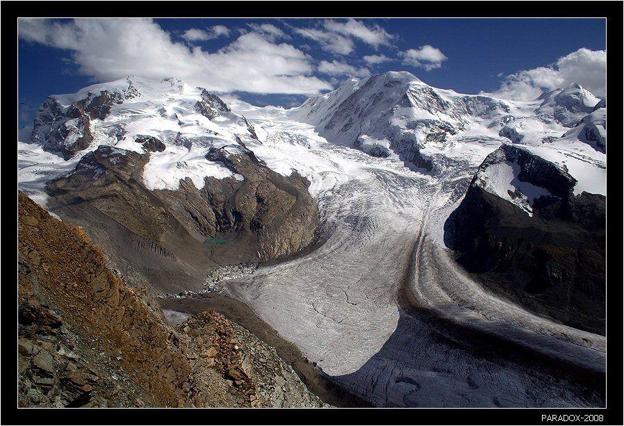 switzerland, альпы, леднк, горнер, горы, букет, облака, paradox, PARADOX