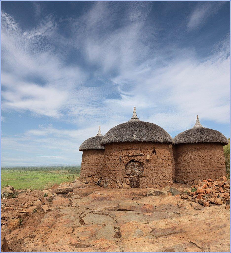 хижина,жилище,африка,пейзаж, Олег Загидуллин