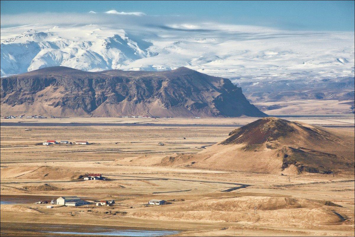 Исландия Iceland вулкан Эйяфьядлайокудль Eyjafjallajokull, Vadim Nikiforov