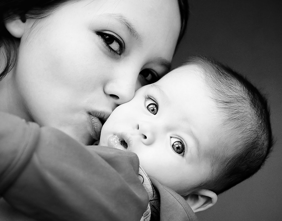мама, малыш, нежность, любовь, кроха, дети, ребенок, сын, мальчик, детство, Макеичева Анна