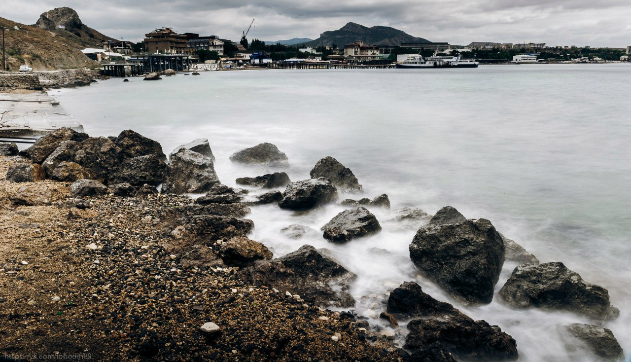 Hair, Landscape, Life, Nature, Sea, Stones, Крым, Пейзаж, Андрей Лободин