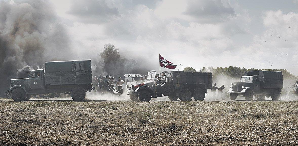 41-й, Война, Лето, Немцы, Boji