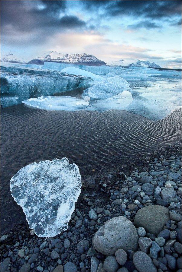 Исландия Йёкюльсаурлоун Jokulsarlon ледяная лагуна ледник, Vadim Nikiforov