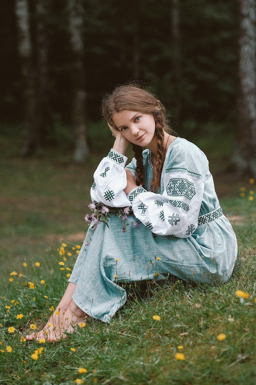 девушка, лето, портрет, Ольга Баранцева