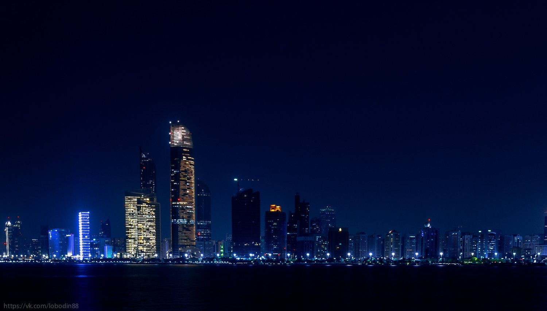 city, color, landscape, light, night, город, Андрей Лободин