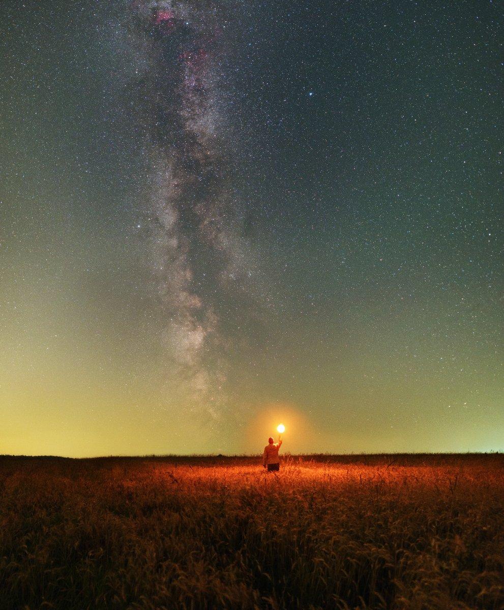 Млечный путь, Космос, подмосковье, Борис Богданов