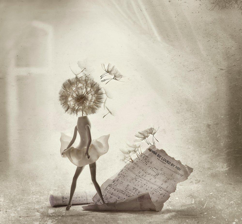 ассоциации, мэрилин, настроение, натюрморт, одуванчик, ретро, фантазии, Вероника Бабенко