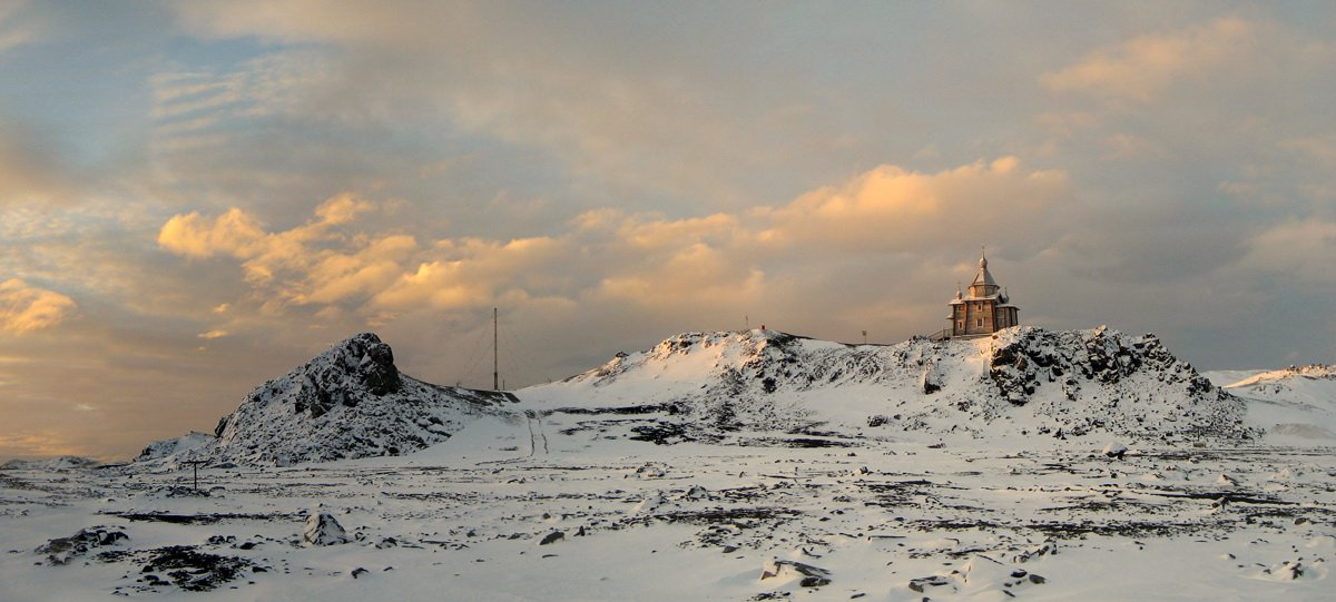 храм святой троици, антарктика, беллинсгаузен, Руслан Елисеев