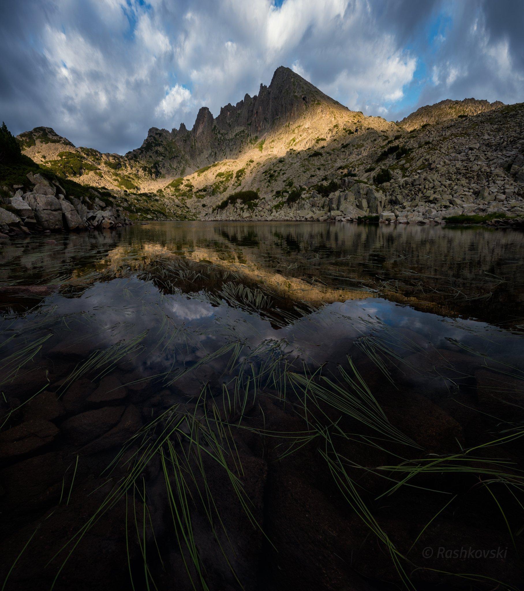 планина, езеро, lake, mountain, Емил Рашковски