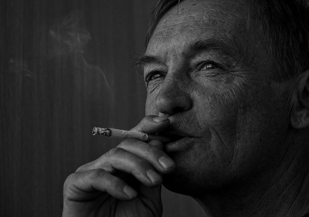 Дым, Мужчина, Настроение, Сигареты, Елена Бортникова