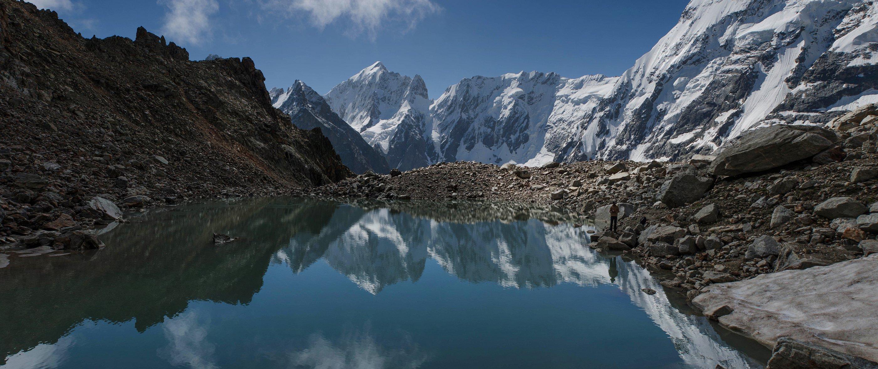 Горы Кавказ Безенги, Алексей