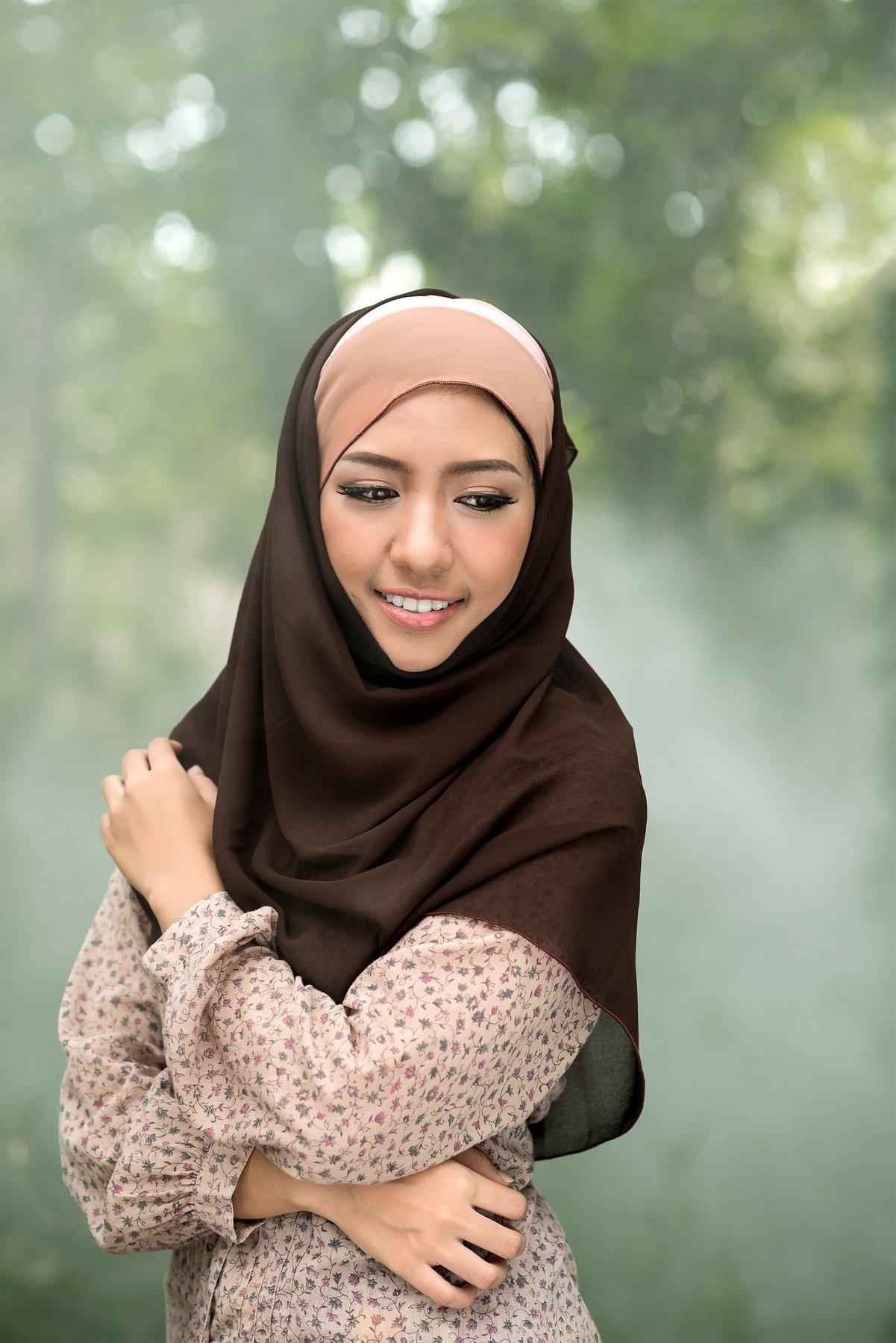 muslim,day,portrait,women,southeast asia,lifestyle,, SUTIPORN SOMNAM