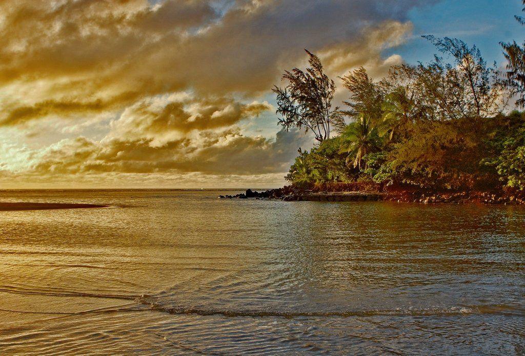 станко, берег, море, небо, гавайские, острова, Андрей Станко