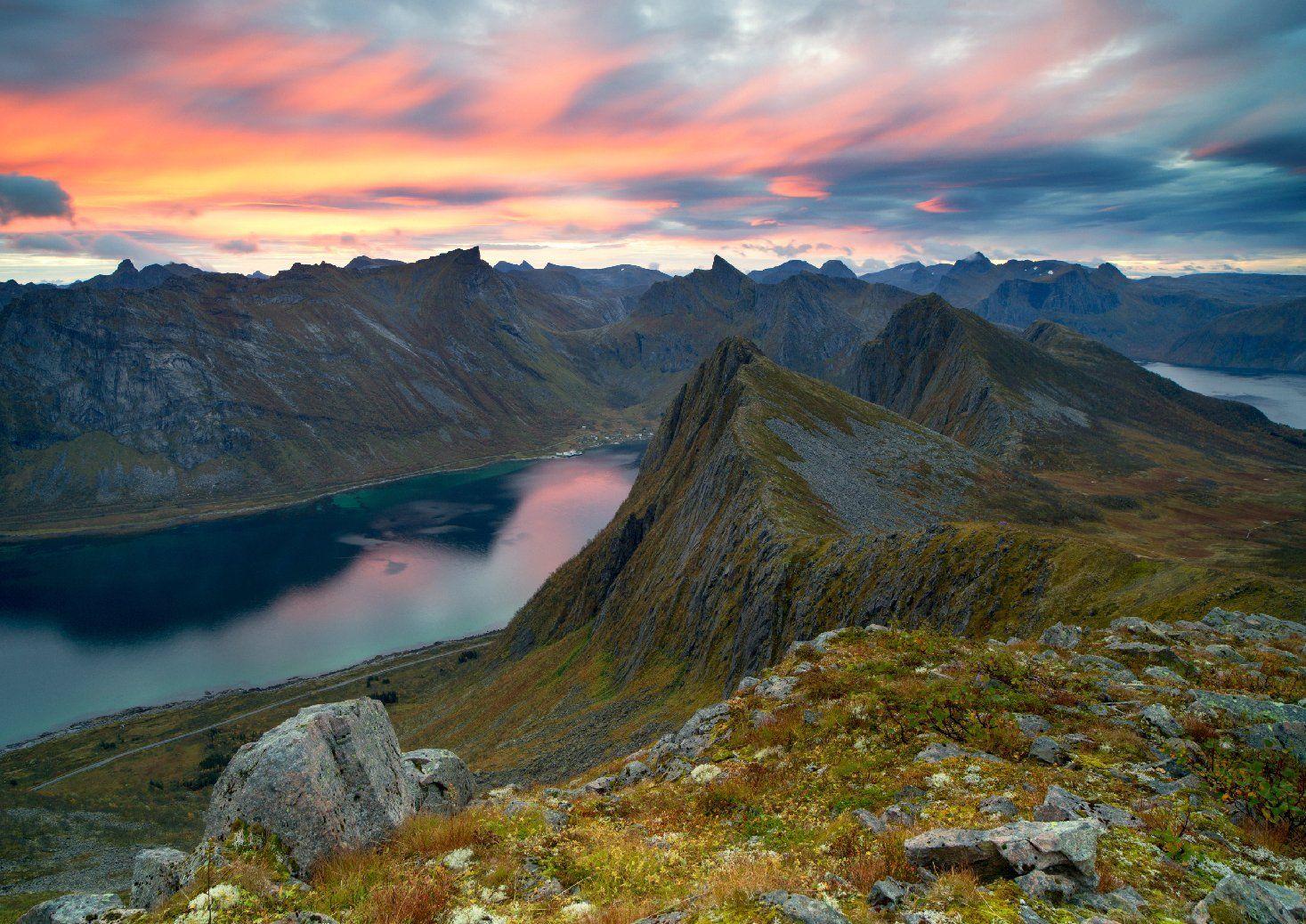 Husfjellet, Norway, Senja, Норвегия, Сергей Луканкин